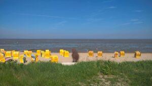 Der Strand in Duhnen